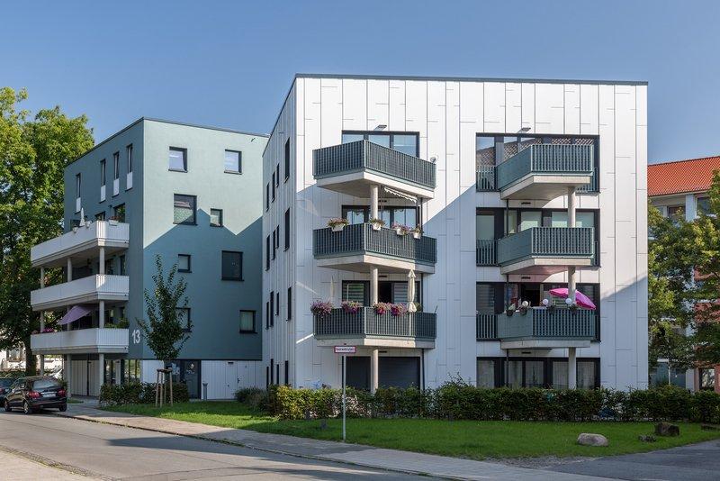 Aussenansicht eines Neubaus in Huchtingen