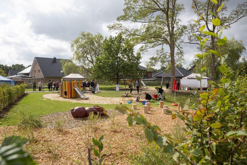 Spielplatz im Waldviertel in Bremerhaven
