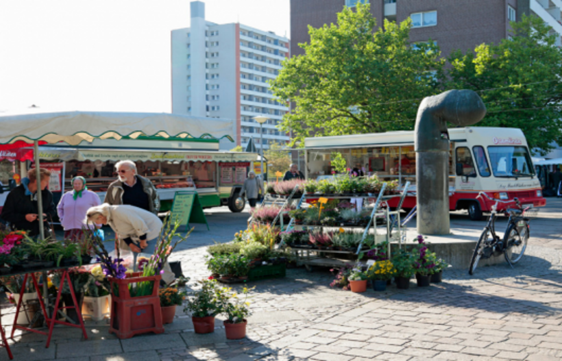 Wochenmarkt in Kattenturm
