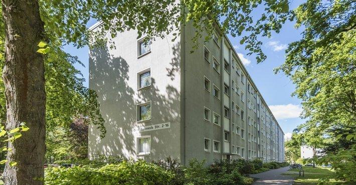 Vorschaubild des Vermietungs-Angebots 'Schön geschnittene Wohnung in der 2. Etage mit neuem Bad.'