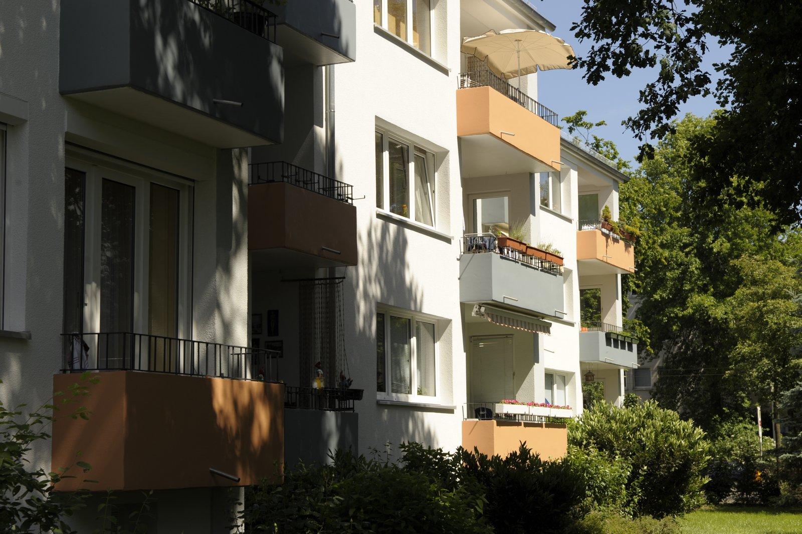 Balkon- Rückseite