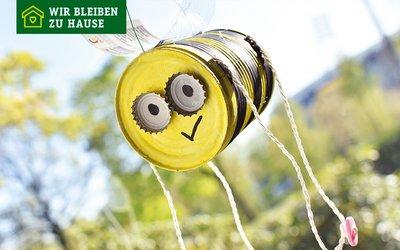 Vorschaubild für den Artikel 'Upcycling: Biene aus Konservendose'
