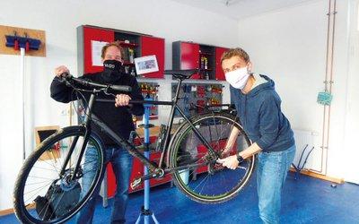 Vorschaubild für den Artikel 'Fahrrad- und Reparaturstation Ellener Hof'