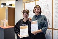 Vorschaubild für die Download-Datei Preisträgerinnen Francisca Jahn und Paula Kandzia