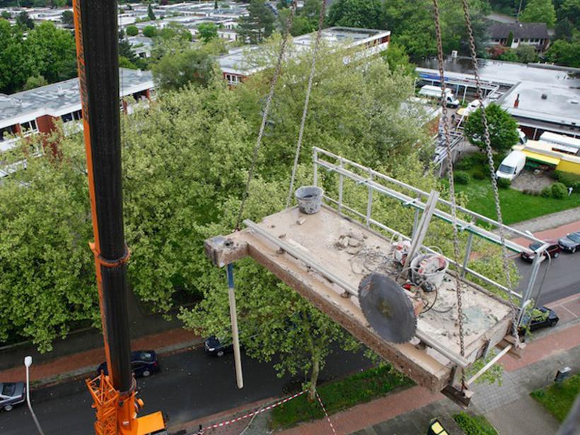 Hochhaus Eislebener Umbau