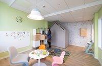 Vorschaubild für die Download-Datei Olga Wertz zeigt den neuen Spielbereich des Eltern-Kind-Büros