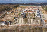 Vorschaubild für die Download-Datei Luftaufnahme Gartenstadt Werdersee