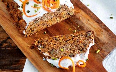 Vorschaubild für den Artikel 'Karottenkuchen mit Frischkäseguss'