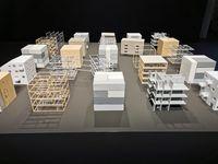 Vorschaubild für die Download-Datei Der Bremer Punkt als Modell für die Architekturbiennale 2021 © LIN, Maja Lesnik