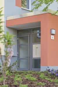 Vorschaubild für die Download-Datei Moderner Eingangsbereich Ludwig-Börne-Straße