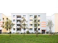 Sanierte Wohnanlage Bürgerpark-Süd