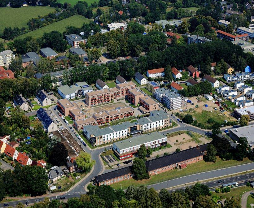 Lesum Park Bremen-Nord Vogelperspektive