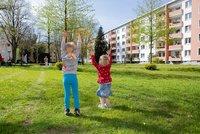 Vorschaubild für die Download-Datei Bewegung mit GEWOBA macht Kindern Spaß