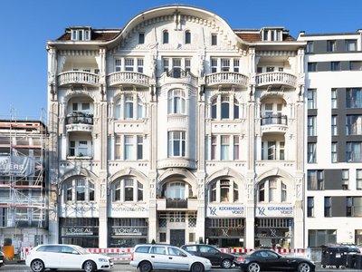 Vorschaubild des Verkaufsangebots 'Vermietete Altbauwohnung in einem Jugendstilgebäude'