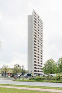 Vorschaubild für die Download-Datei Das bekannte Aalto Haus in der Bremer Vahr
