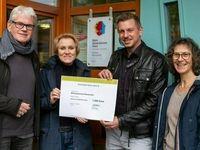 Vorschaubild für den Artikel 'Bildungsbrücke Blumenthal erhält 1.500€ Spende von der GEWOBA'