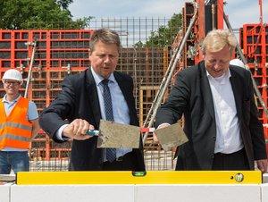 Vorschaubild für den Artikel 'Zehn Jahre nach Stadtumbau:  GEWOBA baut in Osterholz-Tenever'
