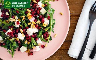 Vorschaubild für den Artikel 'Rucola-Granatapfel-Feta-Salat'