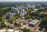 Vorschaubild für die Download-Datei Luftaufnahme OTe Atriumhaus und Pezzetino-Häuser
