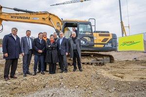 Baustart der GEWOBA im Neubaugebiet Gartenstadt Werdersee