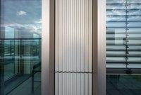 Vorschaubild für die Download-Datei Detail der neuen, hellen Keramikfassade des GEWOBA-Büroturms in der Bremer City