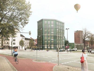 Vorschaubild für den Artikel 'Neustadt: Wohnen im Sechseck'