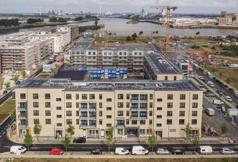 Neubau in der Überseestadt