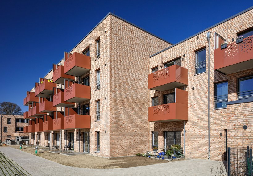 Lesum-Park Bremen-Nord Gebäudedetail
