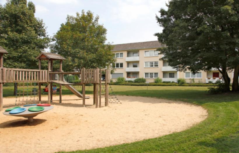 Spielplatz im Wohngebiet