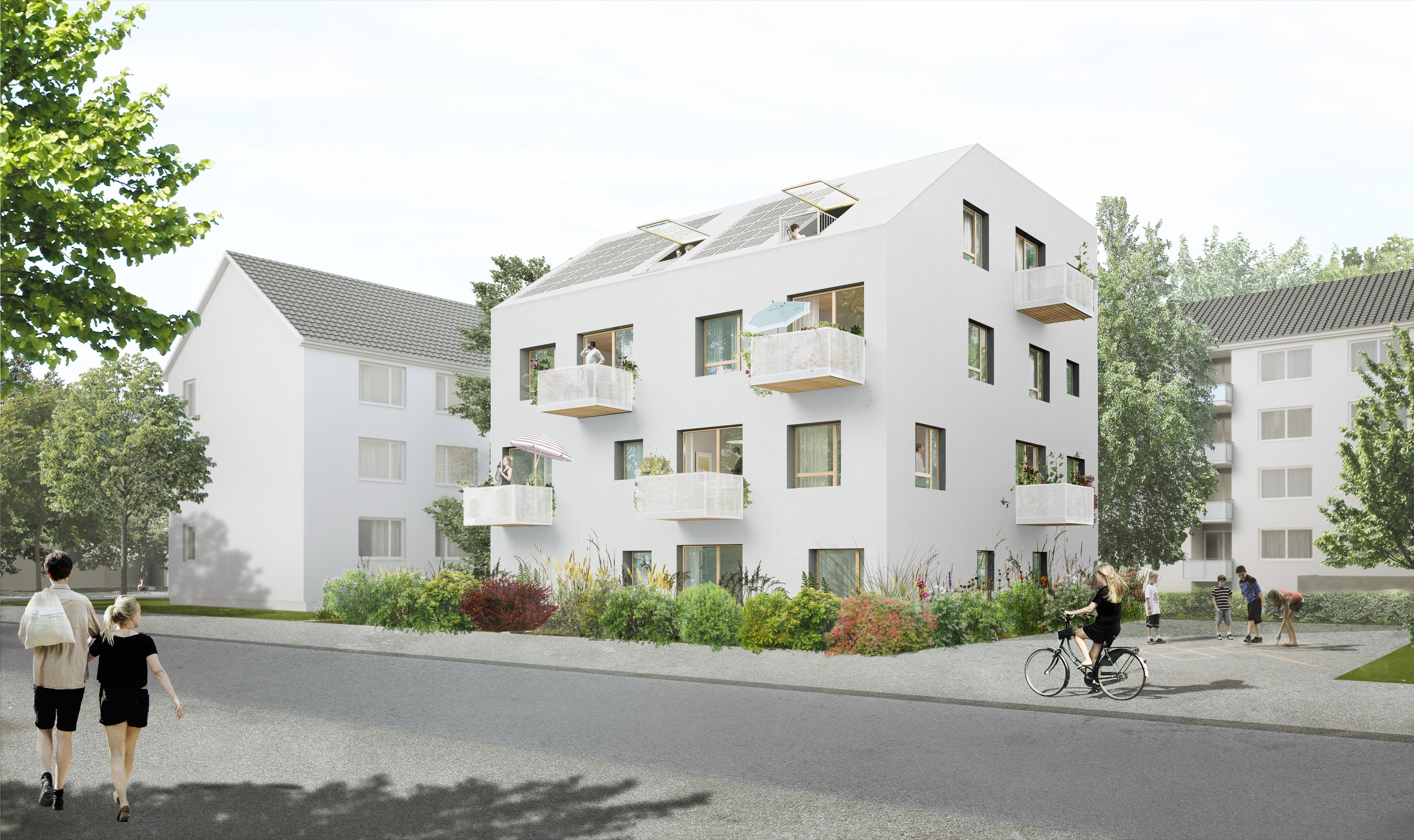 Visualisierung Bremer Punkt Emma Straße